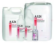 A12T Dilutus 8 0% desinficeringsmedel i 100 ml, 500 ml och 1 liters flaska samt i 10 liters och 5 liters dunk