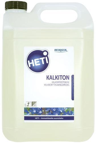 HETI Kalkiton, ett surt rengöringsmedel för kalkborttagning i 5 liters dunk
