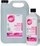 HETI Kapu Joutsen starkt surt rengöringsmedel för badrum och toalett i 1 liters flaska och 5 liters dunk