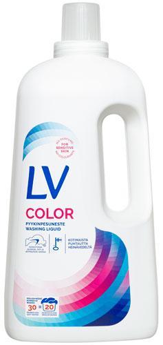 LV Color Flytande tvättmedel för kulörtvätt i 1,5 l