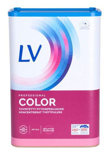 LV Color Professional - Koncentrerat kulörtvättpulver i 8 kg