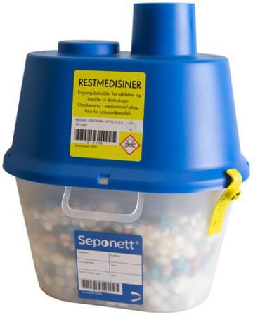 Seponett SP-1 för tabletter och kapslar